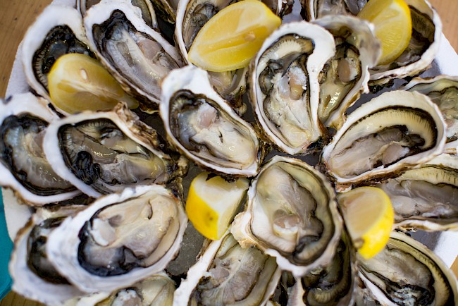 Oyster - calories, kcal, weight, nutrition