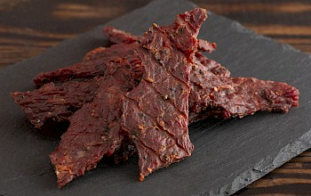 Beef jerky - calories, nutrition, weight