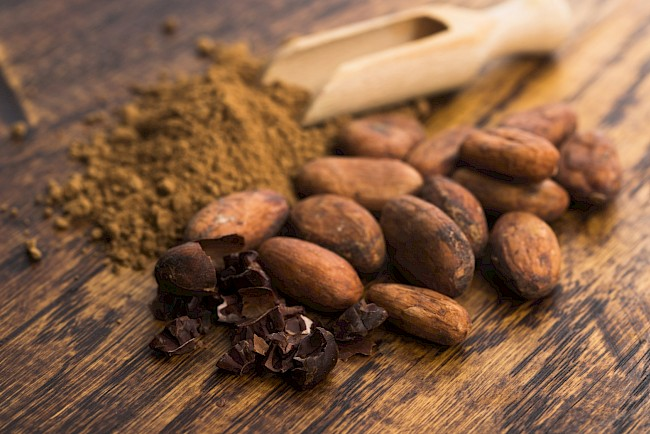 Cocoa - calories, kcal, weight, nutrition