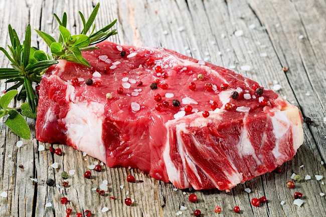 Beef - calories, kcal, weight, nutrition