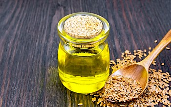 Linseed oil - calories, nutrition, weight