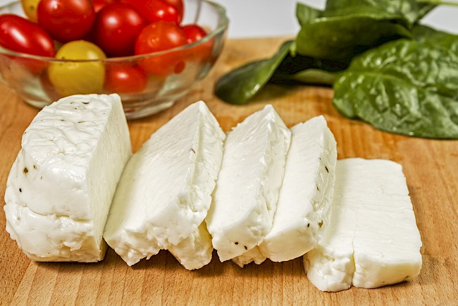 Halloumi cheese - calories, kcal, weight, nutrition