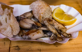 Frog legs - calories, nutrition, weight
