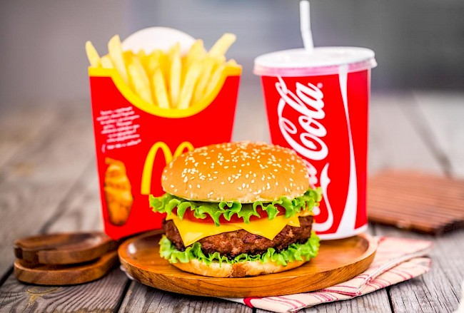 Cheeseburger McDonalds - calories, kcal