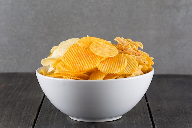 Potato chips - calories, kcal, weight, nutrition