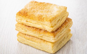Puff pastry - calories, nutrition, weight