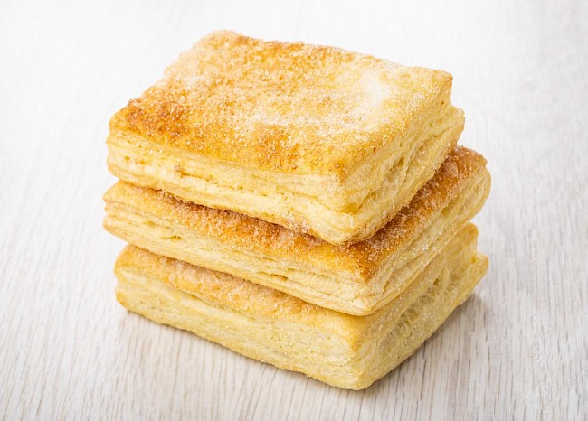 Puff pastry - calories, kcal