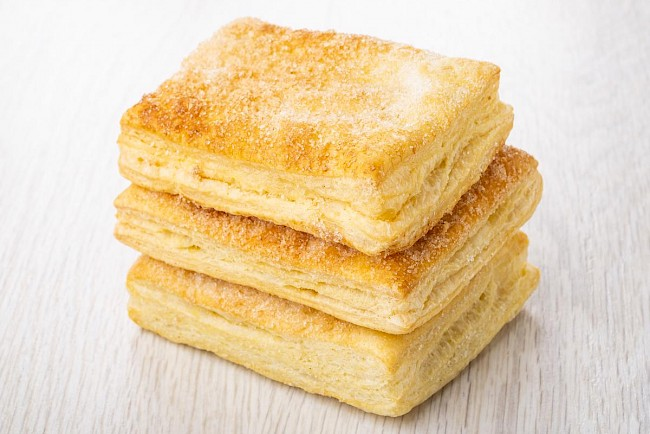 Puff pastry - calories, kcal, weight, nutrition
