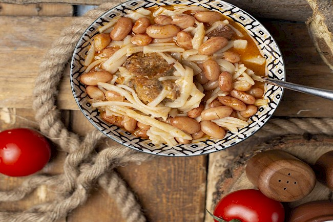 Baked beans - calories, kcal, weight, nutrition