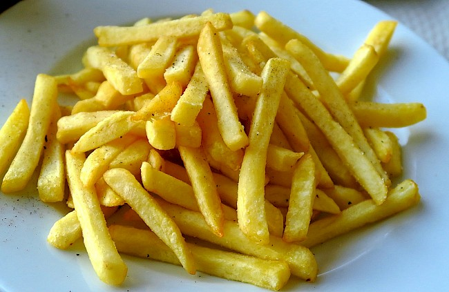 Fries (French fries) - calories, kcal