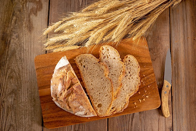 Slice of bread - calories, kcal, weight, nutrition
