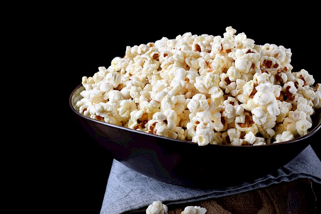 Popcorn - calories, kcal, weight, nutrition