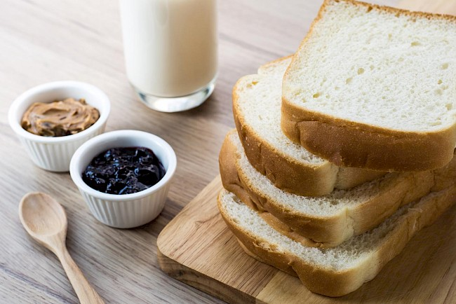 Toast (toasted bread) - calories, kcal, weight, nutrition