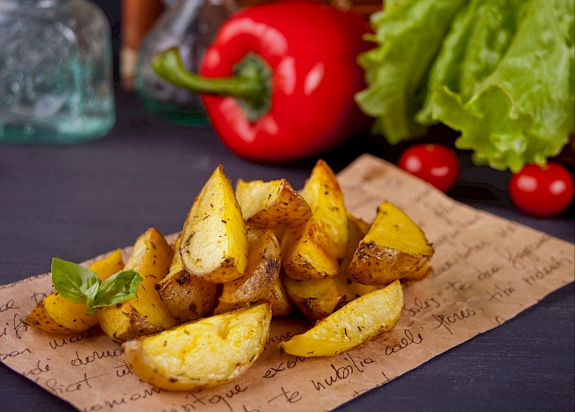 Potato (baked or cooked) - calories, kcal